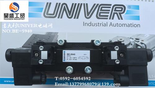 意大利UNIVER电磁阀NO.BE-5940