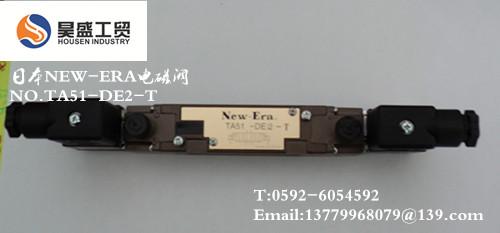 日本new-era电磁阀no.ta51-de2-t图片