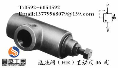溢流阀(HR)直动式 06 式